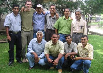 Coordinateurs des 150 agents communautaires de la pastorale de santé du diocèse de Choluteca - départements de Valle et de Choluteca. Volontaire : Nicolas Bouchery