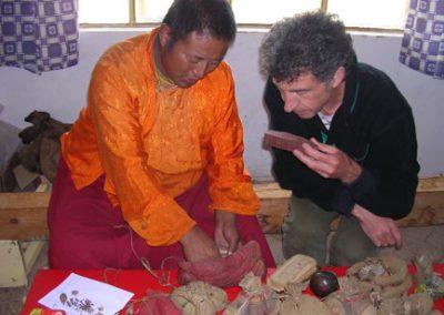 Enquête ethnobotanique auprès de Tetok lama médecin