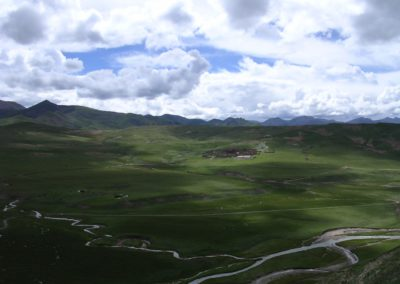 Monastère Tharjay sur le plateau du Kham
