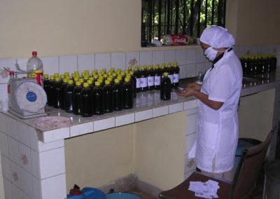 Elaboration de remède traditionnel amélioré au Honduras